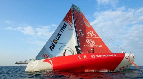 Heuver, Aeolus and the Volvo Ocean Race