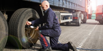 The correct tyre pressure for your truck