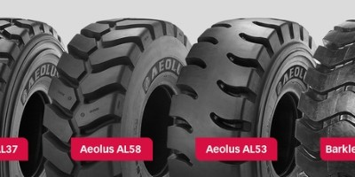 Profiles of earth-moving tyres