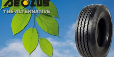 Aeolus Eco-Twin tyres greatly improve efficiency thanks to 'Second Life' formula