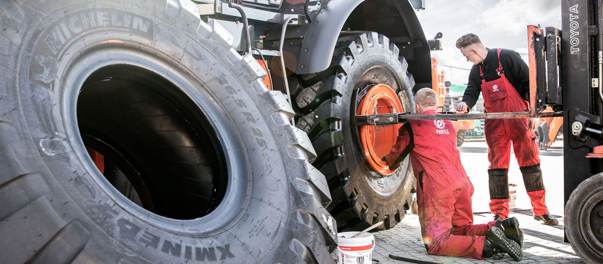 Conversion possibilities tractor tyres