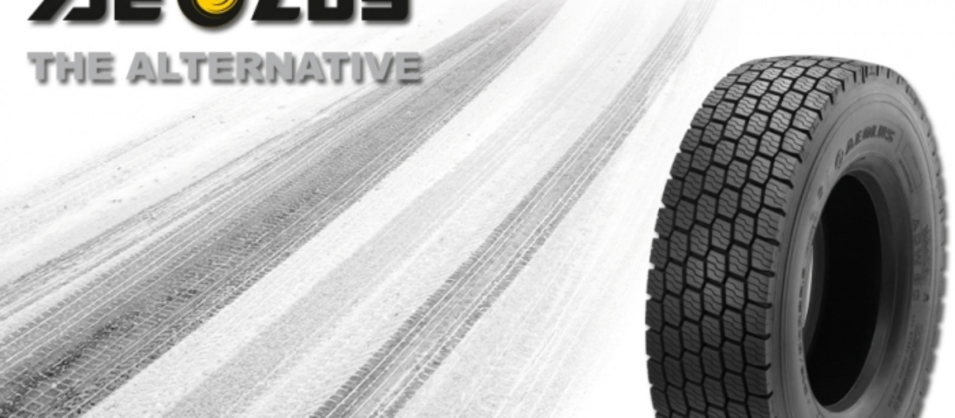 Aeolus now has a winter tyre for drive axles and steering axles